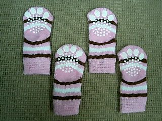 ピンクの靴下2